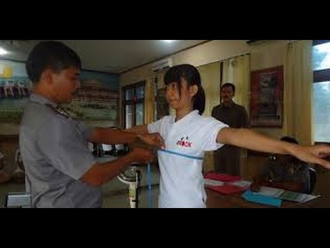 Woman police recruits undergo internal examinations as part of