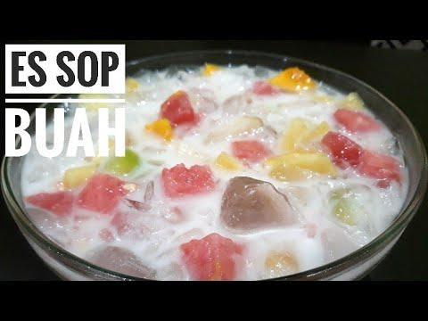 Es Sop Buah Segar Resep Dan Cara Membuat Es Sop Buah Yang Enak