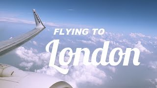 FLYING TO LONDON | TRAVEL VLOG #2