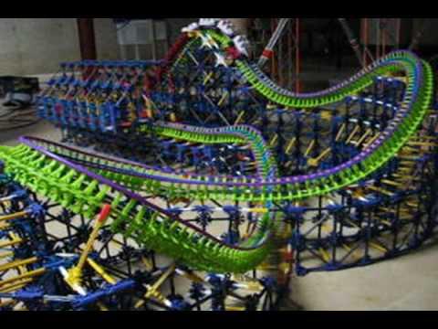 Phobos - Custom K'Nex Roller Coaster