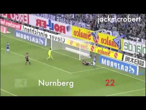 Klaas-Jan Huntelaar's 48 Goals of 2011/12 in 3 Minutes