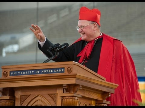 Commencement 2013: Cardinal Dolan delivers the Commencement Address