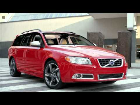 2012 Volvo V70 R Design driving footage