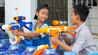 Đồ Chơi Bắn Súng Nerf Cuộc Chiến Siêu Súng Ngắm 2: Nerf War Sniper Gun Battle Shot 2