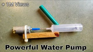 How to make powerful water pump.# sbse sandar trika.