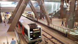 Noord/Zuidlijn - GVB R-net Amsterdam Metro 52 in dienst - new metro line in service!