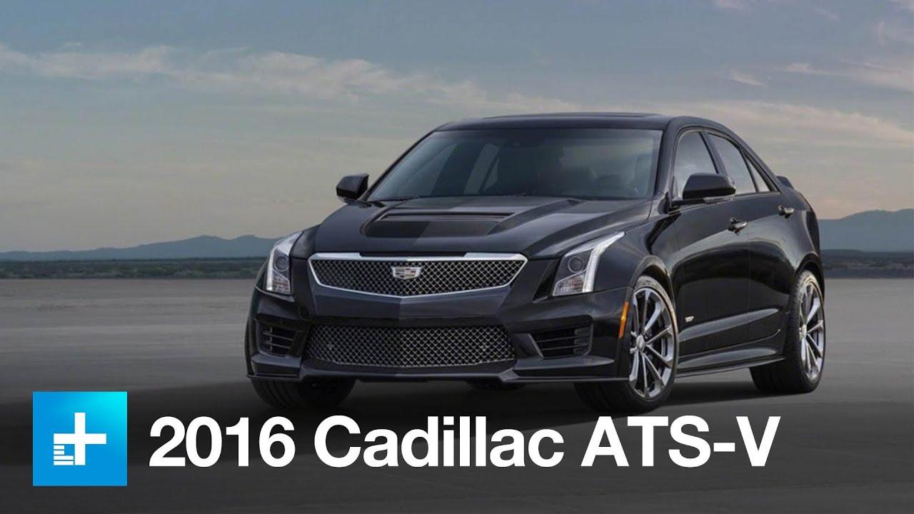 Beautiful 2016 Cadillac ATS V First Look  YouTube