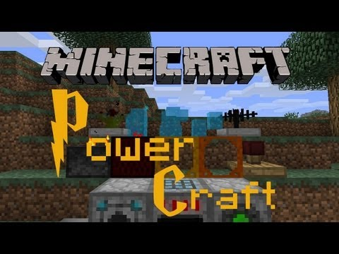 Minecraft  Mod Review - PowerCraft Mod 1.2.5 [GERMAN]
