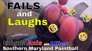 So Many Fails In One Day Southern Maryland Paintball