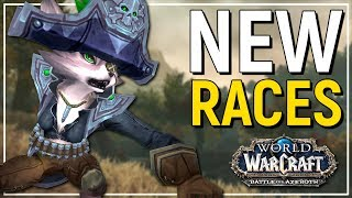 More To Be Added?! - Allied Race & New Race Preview - WoW: Battle for Azeroth Beta