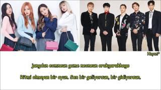Bigbang X Blackpink - Fxxk It X Whistle Mashup Turkish Sub./Türkçe Altyazılı