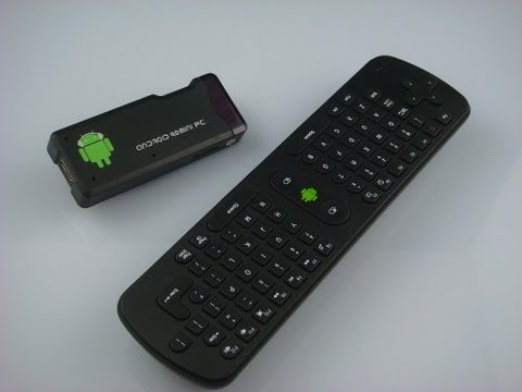Mini Smart Tv Android 4.0 mini PC MK802 & Flymouse Remote