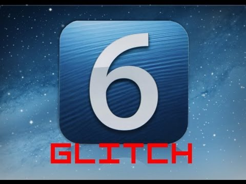 iOS 6 Icon GLITCH Customize Homescreen Without Jailbreak!