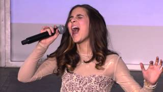 "Performance - Carly Rose Sonenclar: ""Rolling in the Deep"" - Gannett Front 2013"