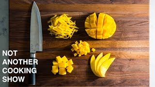 5 EASY WAYS TO CUT MANGO