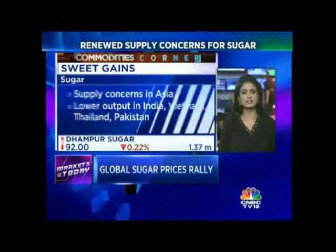 Global Sugar Prices Hit 18-Month Highs