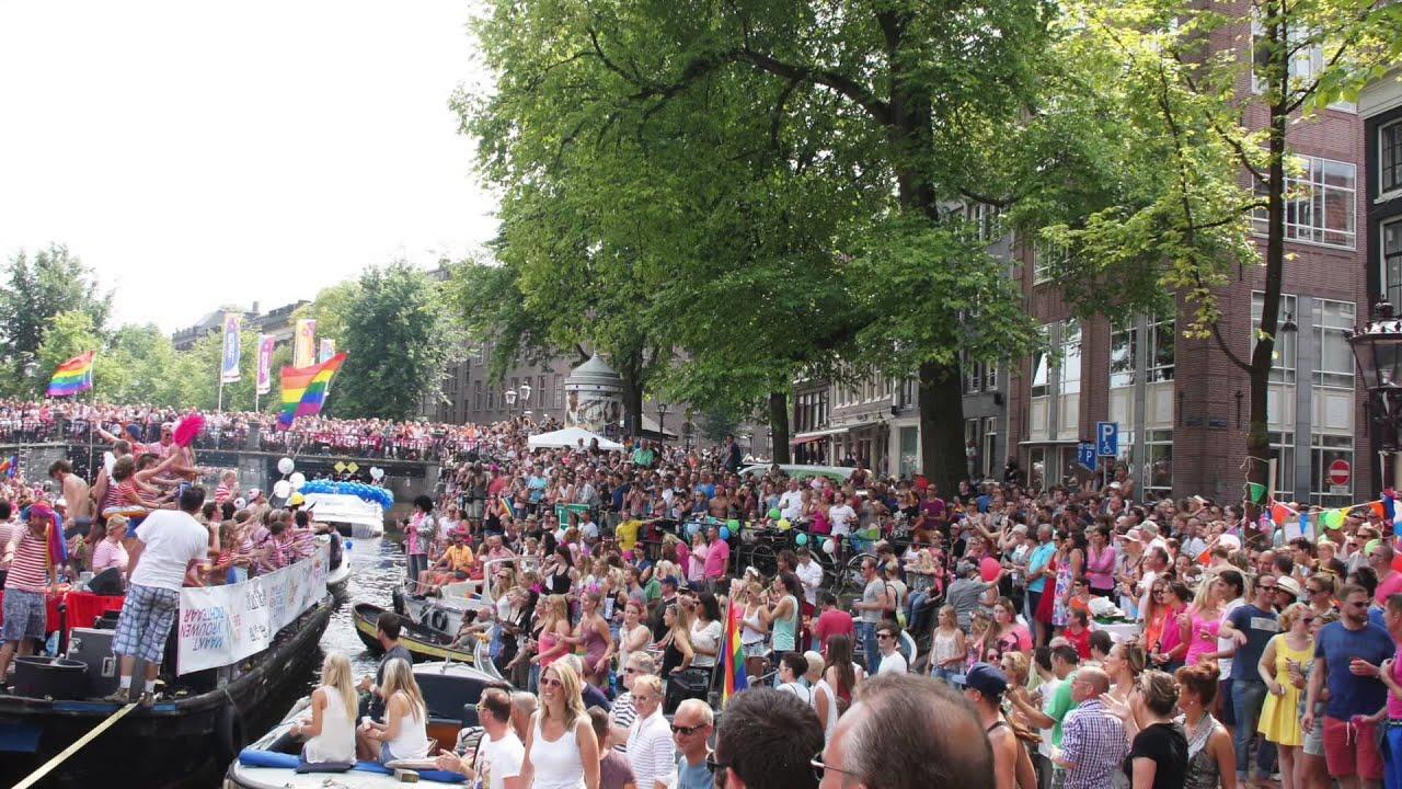 Гей парад амстердам
