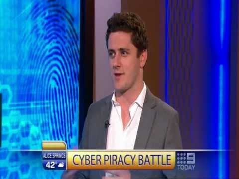 MegaUpload & Online Piracy - Anthony Slater- Today Show