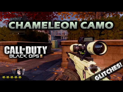 Como Conseguir el Camuflaje CAMALEÓN Black Ops 2