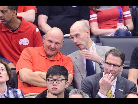 Steve Ballmer Buys Los Angeles Clippers for 2 Billion Dollars (Official Announcement)