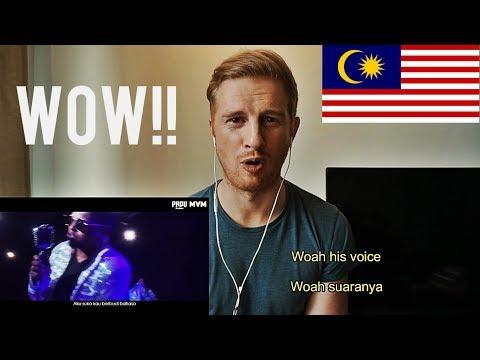 (WOW!!) Santesh - Amalina  // MALAYSIAN MUSIC REACTION