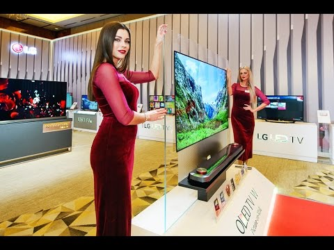 Какими будут ТВ в 2017 ? Презентация LG.