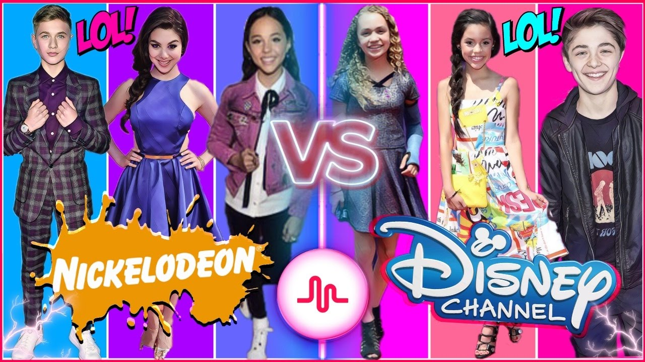 Nickelodeon VS Disney Channel Stars Comedy Musical.ly Battle | The Funniest Famous Kids Musically