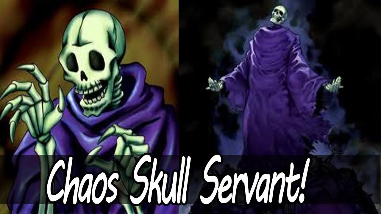 Yugioh Skull Servant Deck Yugioh Chaos Skull Servant