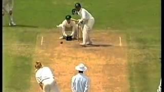 Sachin Tendulkar 2nd Test Match Century 148 not out vs Australia, Sydney 6th January, 1992