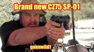 My brand new CZ75 SP-01