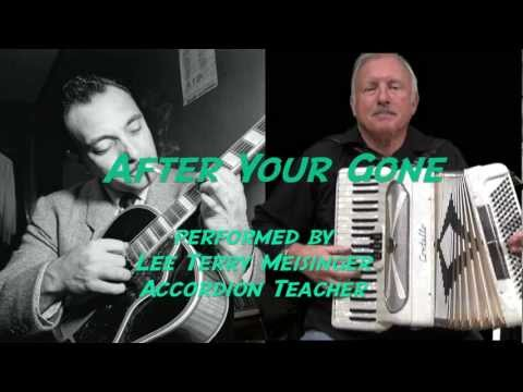 After Your Gone - Lee Terry Meisinger - Django Reinhardt Gypsy Jazz - Swing
