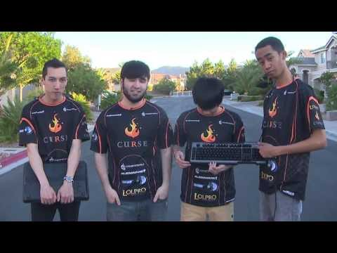CM Storm Keyboard Durability Test by Team Curse