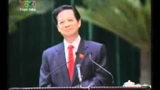 Thủ tướng Nguyễn Tấn Dũng trả lời chất vấn về biển Đông