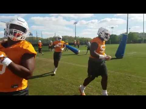 Tennessee football spring practice #14