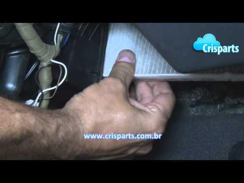 Troca do Filtro de Ar Condicionado - FIAT Modelos Idea, Palio, Siena, Strada