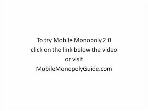 Mobile Monopoly 2.0 - Check Out This Killer Mobile Monopoly 2.0 Review!