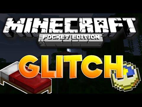 MCPE 1.0.3 WEIRD GLITCH!!! - BEST GLITCH! - TIME HACK! - 1.0.0 NEW   Minecraft Pocket Edition