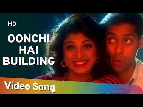 Oonchi Hai Building - Salman Khan - Karishma Kapoor - Rambha -  Judwaa Songs - Comedy Week Special