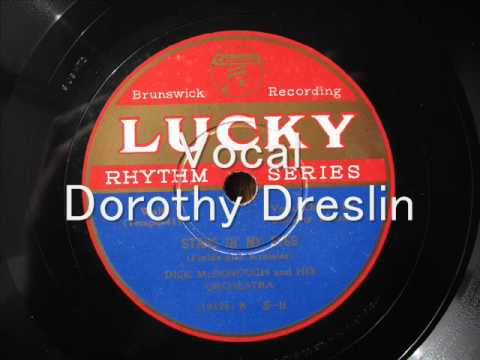 Dick McDonough, Dorothy Dreslin - STARS IN MY EYES
