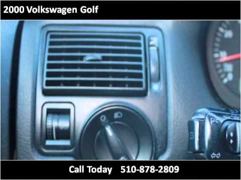 2000 Volkswagen Golf Used Cars San Leandro CA