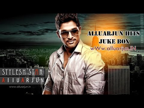 AlluArjun Hits Malayalam    Juke Box Songs   Arya   Arya2   LuckyTheRacer  Gajapokkiri   Happy