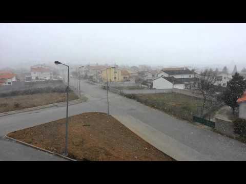 Carrazedo de Montenegro- Neve e Vento 31-01-2015