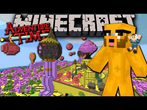 Minecraft: Adventure Time Map Quest with Jake in Ooo Ep.2 Candy Dungeon