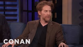 How Seth Green Injured His Vocal Chords - CONAN on TBS
