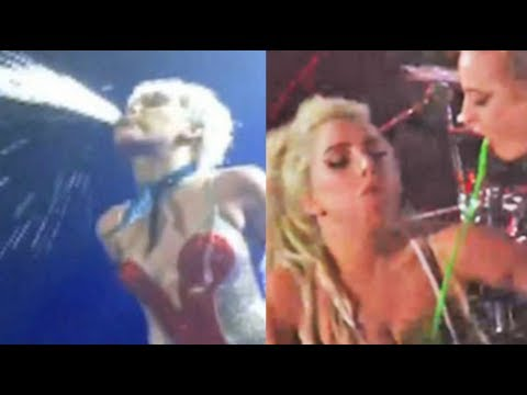 WTF! Miley Cyrus & Lady Gaga Sharing Bodily Fluids