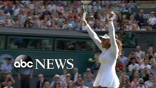 Serena Williams dominates Round 4 at Wimbledon