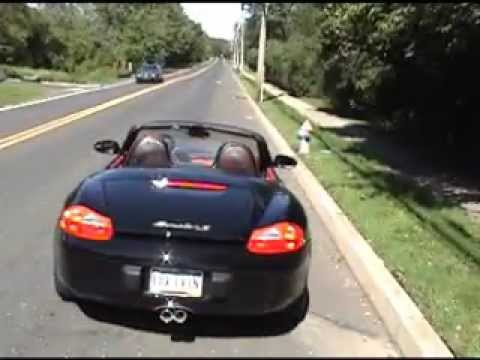 Porsche Boxster 986 Maxflo Exhaust Demonstration