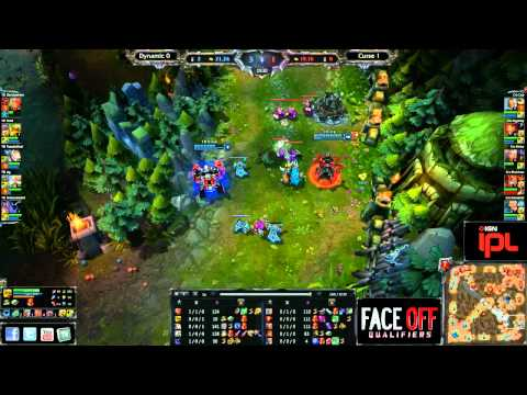 Curse vs Dynamic - Game 2 - IPL Face Off Qualifier - League of Legends