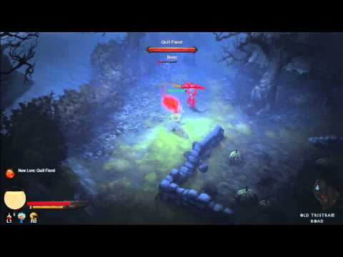 Lets Play Diablo 3 Part 1 MONK PS3 HD (Gameplay/Walkthrough)