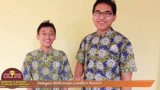 OLimpiade IPS Terpadu dan Geografi Ekonomi tingkat SMP/SMA IPS UIN Jakarta